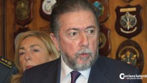 Il procuratore capo Cataldo Motta, titolare del fascicolo d'indagine