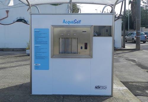 """""""Casa dell'Acqua"""" a Campi Salentina, inaugurazione del distributore pubblico di acqua potabile ..."""