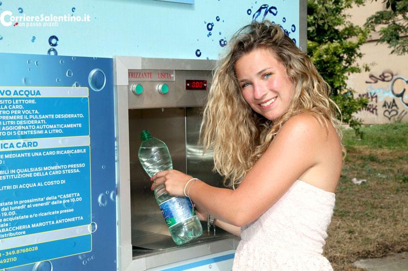 Casa dell'acqua, distributore da 5 cent al litro  Comune di Lecce