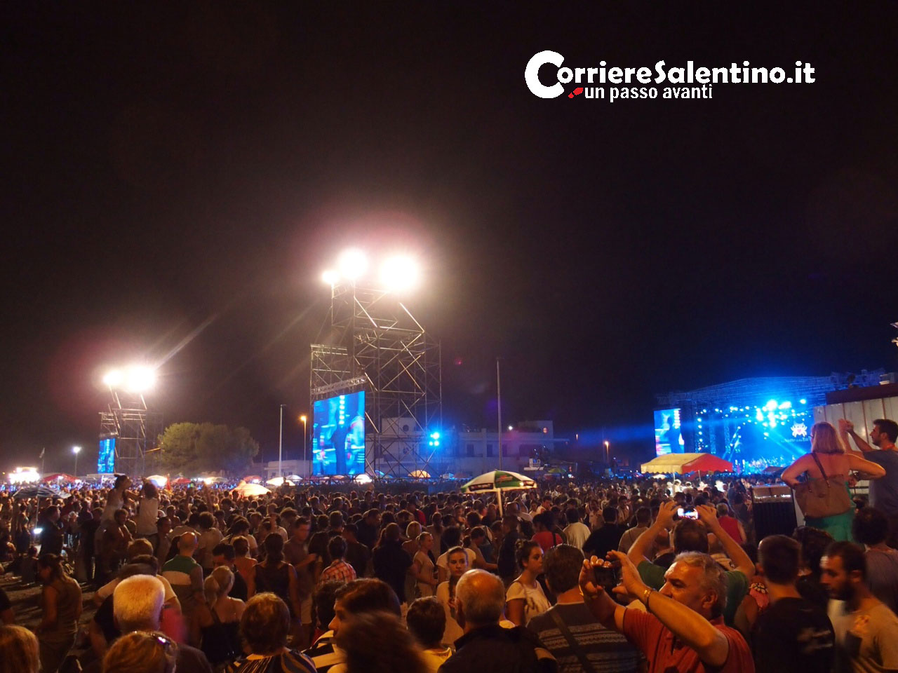 (VIDEO) Notte Taranta: in 200mila al Concertone
