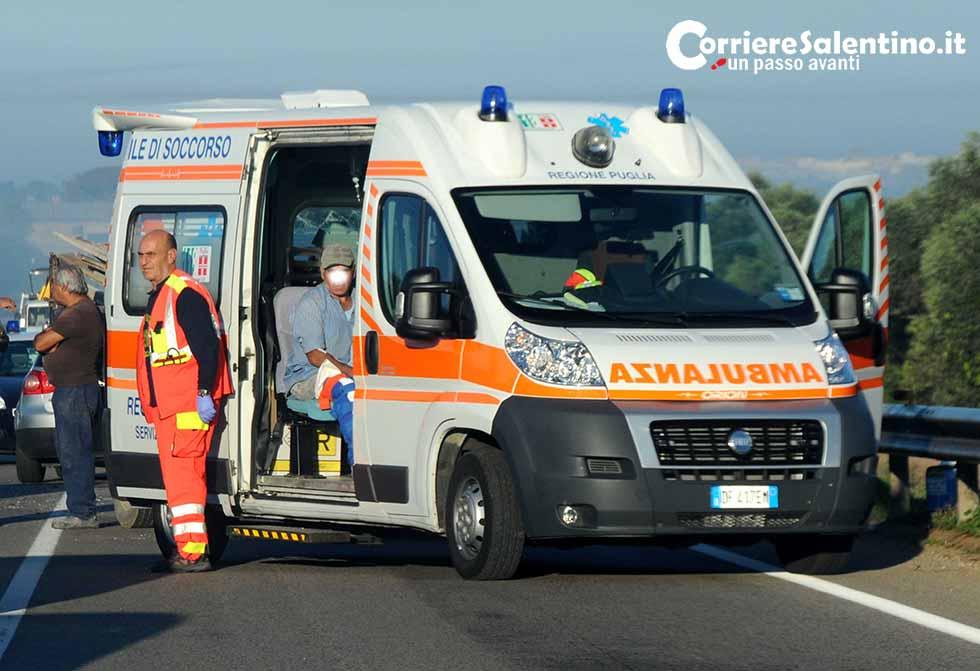 Incidente camion corriere salentino for Leccearredo
