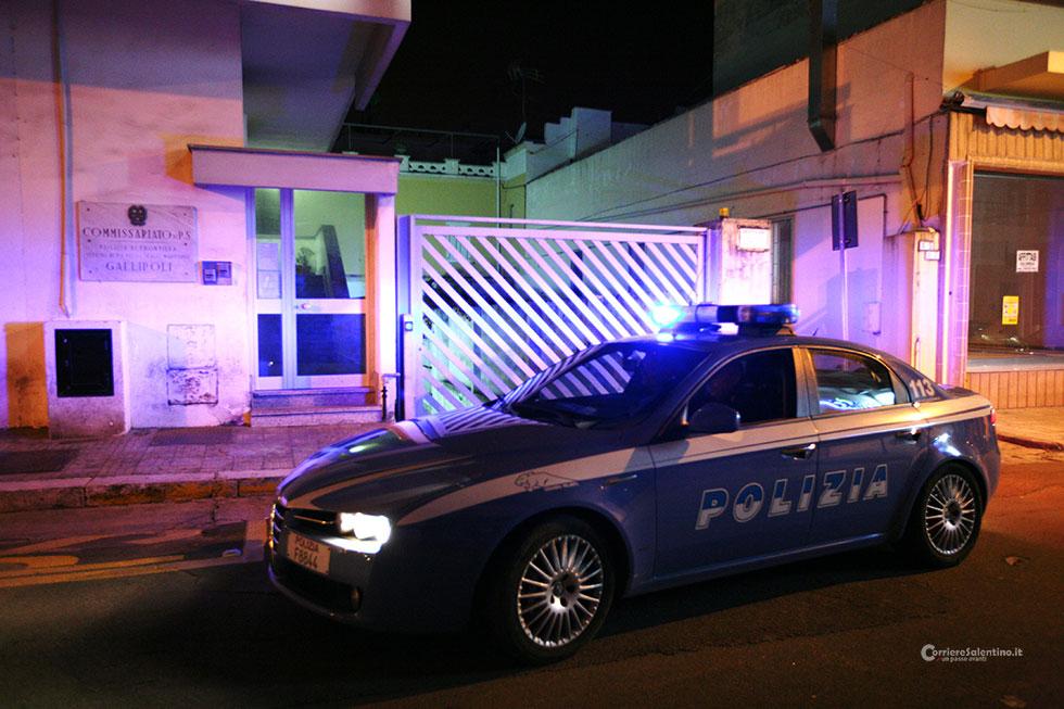 Gallipoli. Petardi sotto auto Carabinieri e Polizia malore per due militari
