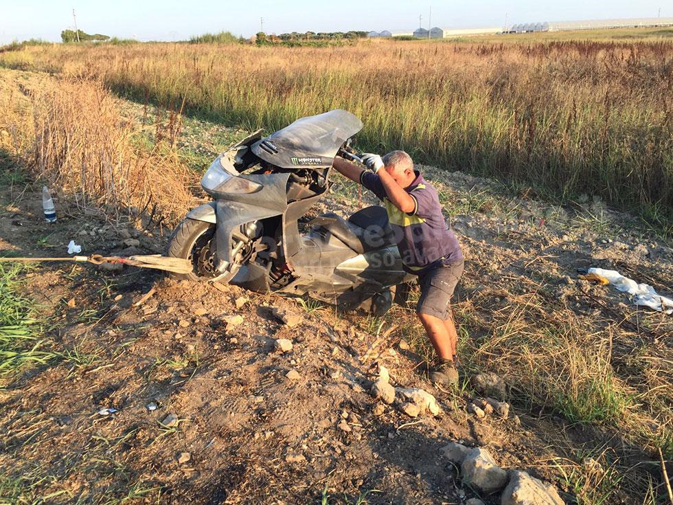 Perde il controllo dello scooter: muore ex carabiniere