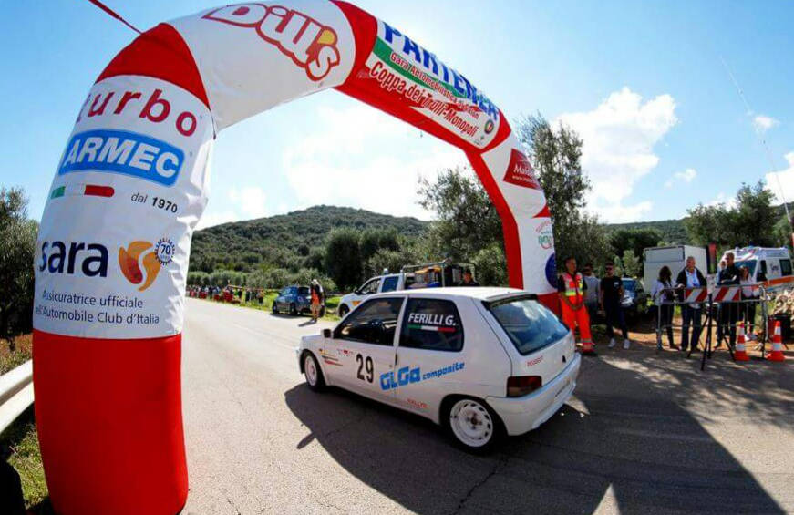 Gabriele Ferilli (U.S. Casarano Rally Team) Coppa dei Trulli '16