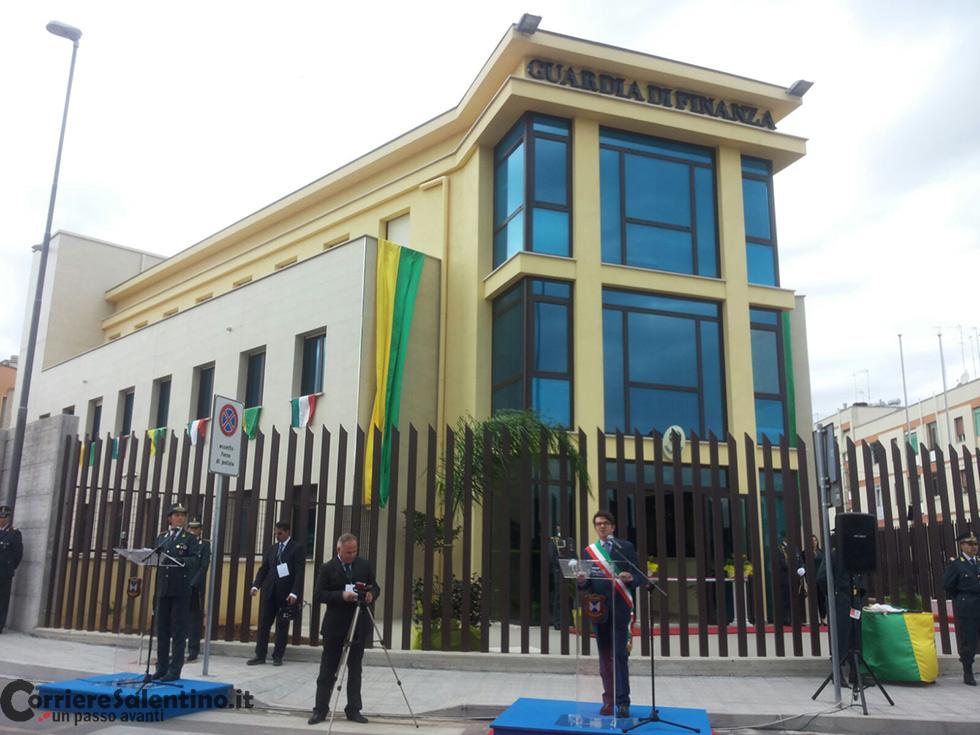 d9fb82f159 Maglie, inaugurata la nuova sede della Guardia di Finanza intitolata ...