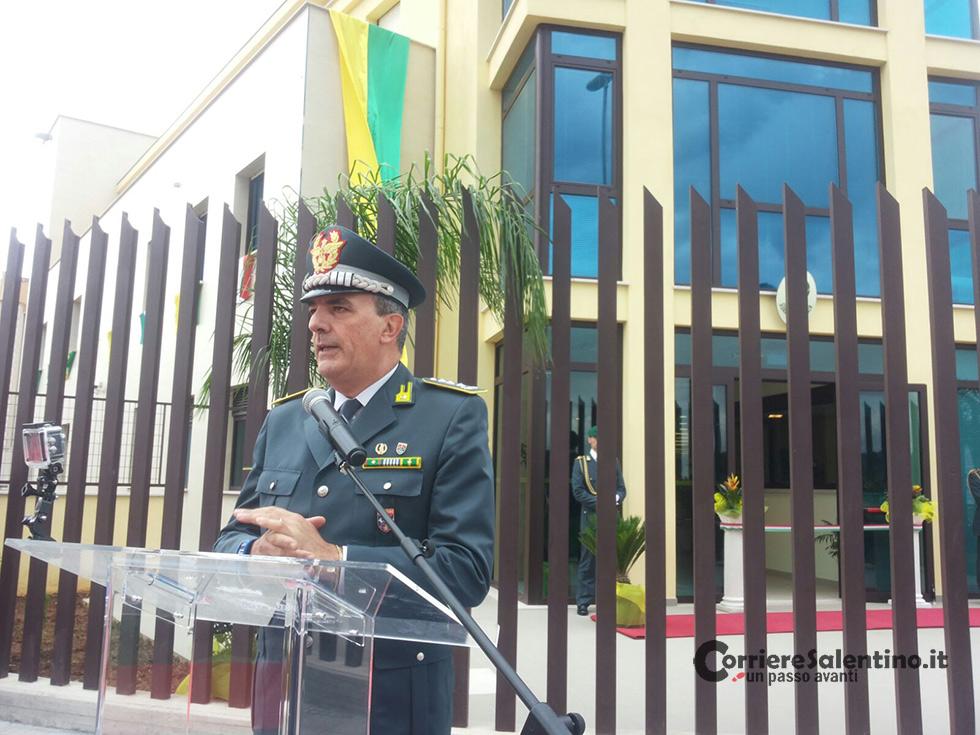 8cbff4ba7d La cerimonia di inaugurazione, proseguita con la visita dei locali della  nuova caserma da parte delle Autorità, è stata quindi conclusa con il  tradizionale ...