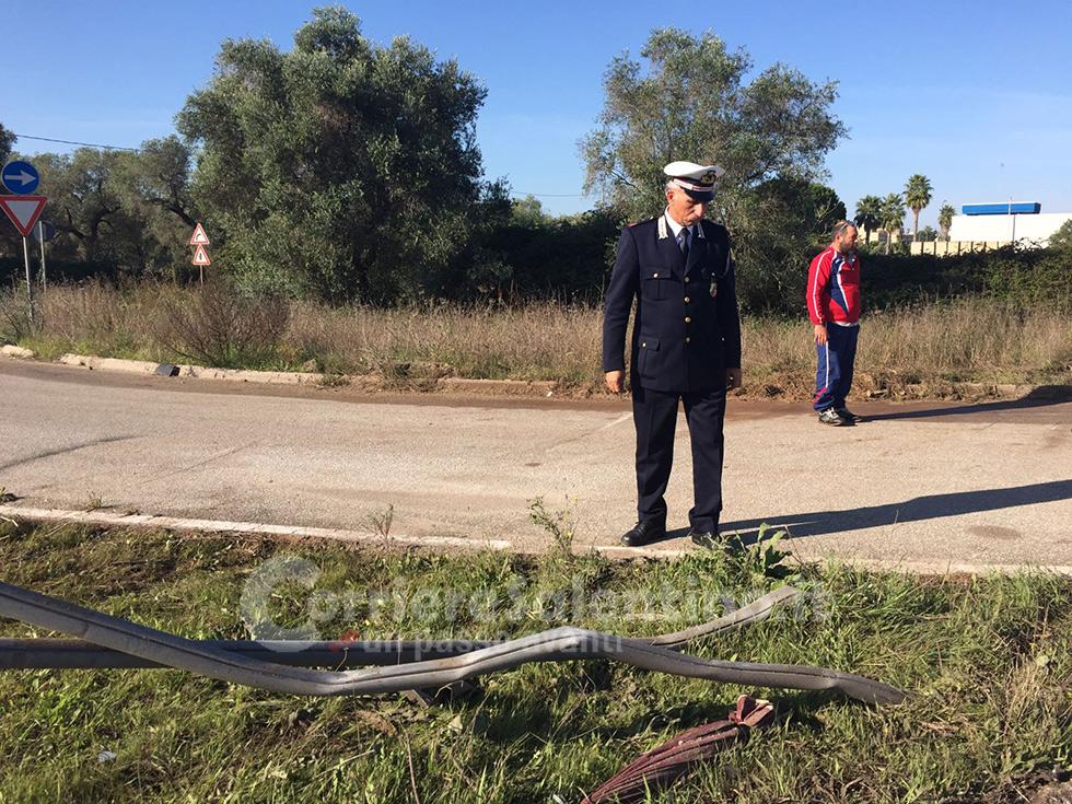 Scontro frontale sulla strada provinciale Calimera-Caprarica. Due giovani deceduti