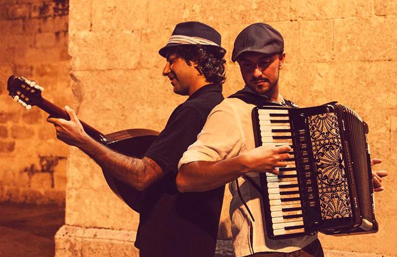 Αποτέλεσμα εικόνας για duo Taxidi dal Salento