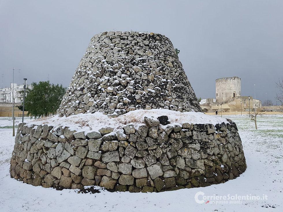 Neve campagna parco corriere salentino for Leccearredo