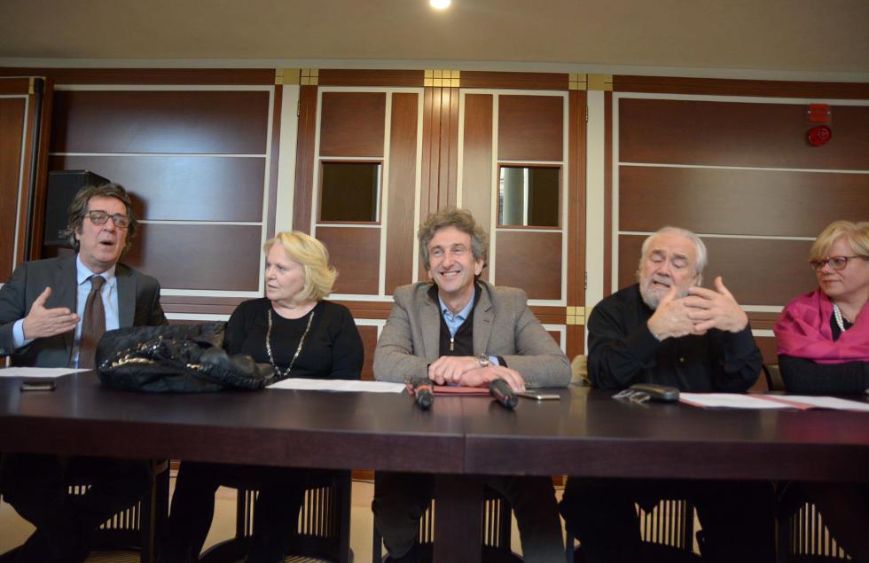 Il presidente Sergio Mattarella a Lecce per l'inaugurazione del Teatro Apollo