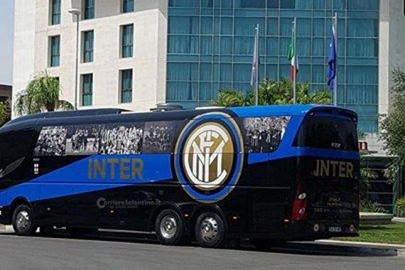 Il Milan a Catania per la sfida con il Betis Siviglia
