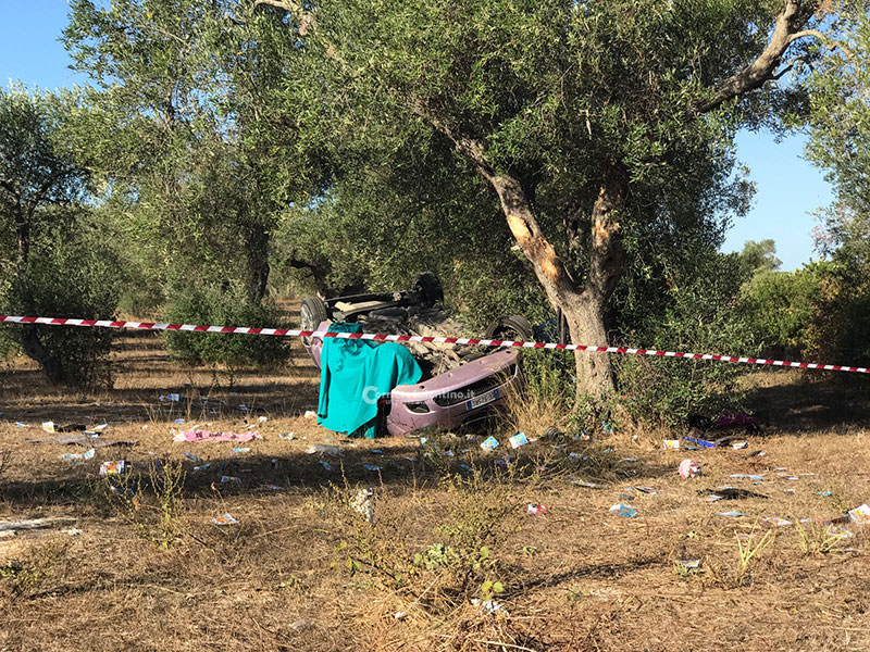Sangue sulle strade del Salento: ancora due incidenti mortali