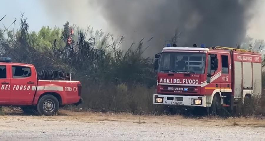 """Incendi, Gruppo Forza Italia: """"La Puglia Brucia, Ma Dalla Regione Solo  Disinteresse"""" - Corriere Salentino Lecce"""